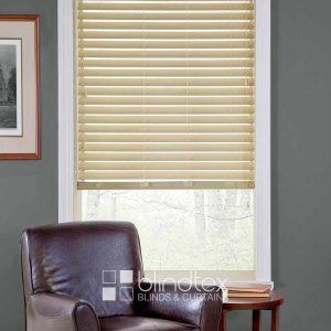 Linen Faux wood Blinds