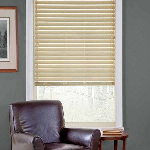 Linen Faux wood Blinds