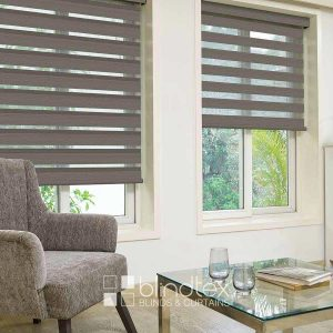 Minerals Coffee Duplex Blinds
