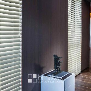 Pebble Faux Wood Blinds