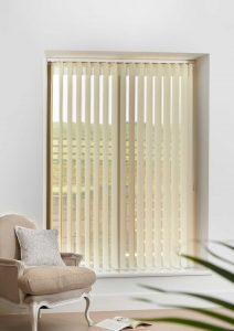 Nordic Beige Vertex Blinds