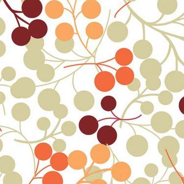 Berries-Orange-Roller-Blind